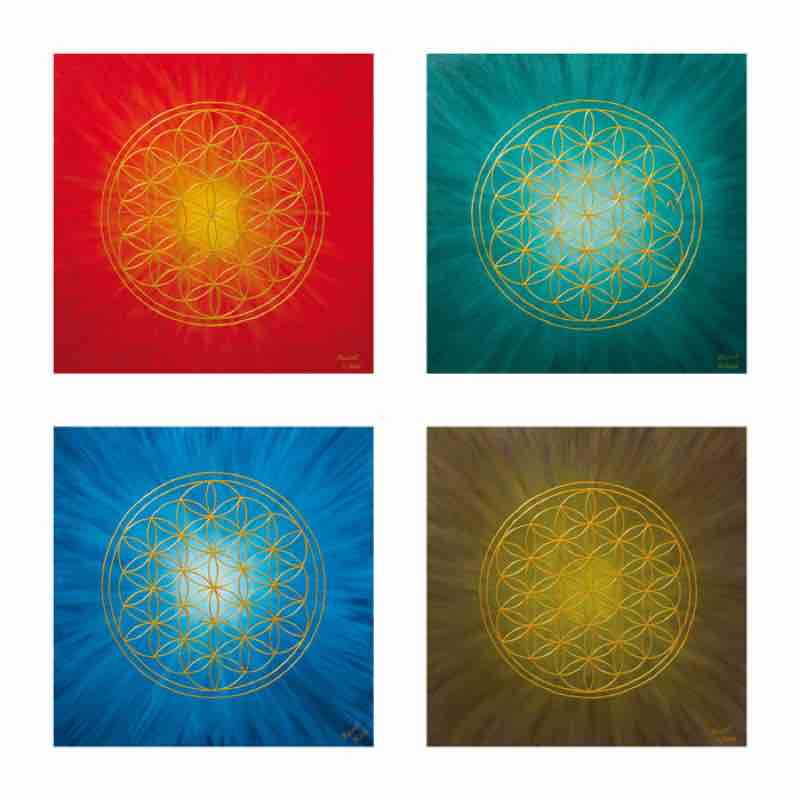 Energiebild: Die vier Elemente
