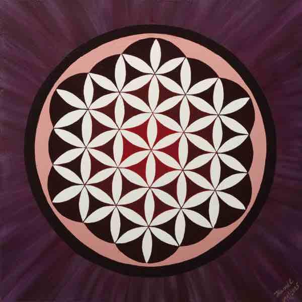 Blume des Lebens Bild: Clear mind 1
