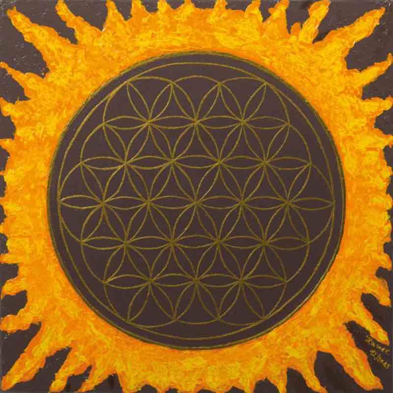 Blume des Lebens Bild - Fleur de Soleil
