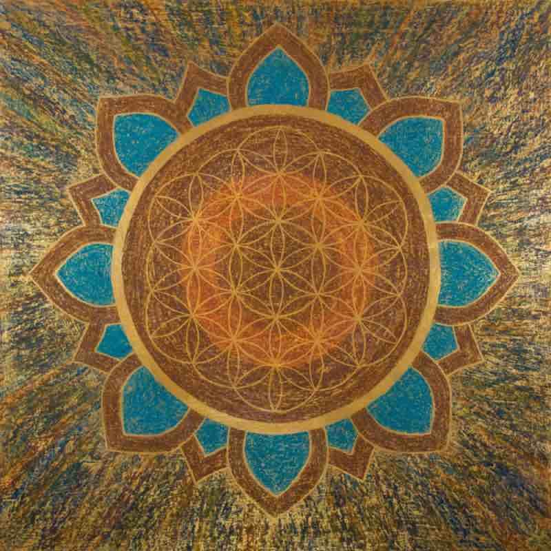Energiebild: Lotusblüte