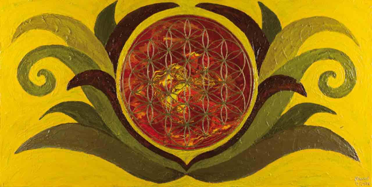 Energiebild: Wüstenblume