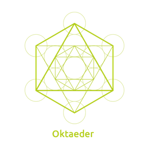 Oktaeder -Element Luft