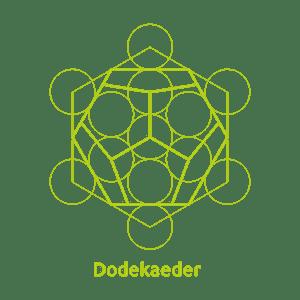 Dodekaeder -Element Äther