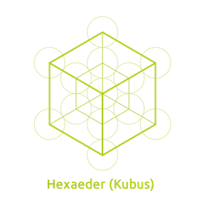 Hexaeder -Element Erde