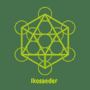 Ikosaeder -Element Wasser