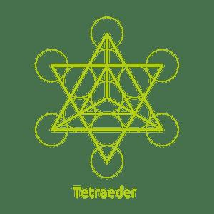 Das Tetraeder in der Energiearbeit