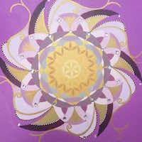 Auftragsarbeit: Mandala of Summer Love
