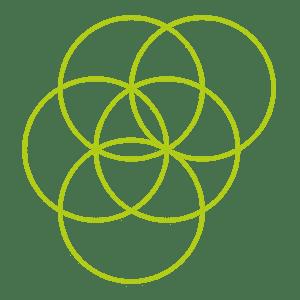 Heilige Geometrie - Blume des Lebens Kreis 5