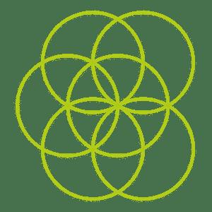 Heilige Geometrie - Blume des Lebens Kreis 6