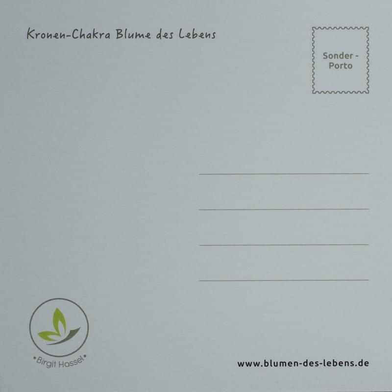 Postkarten-Set: Rückseite