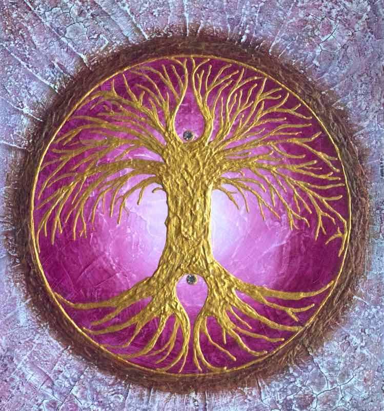 Energiebild: Auftragsarbeit Baum des Lebens