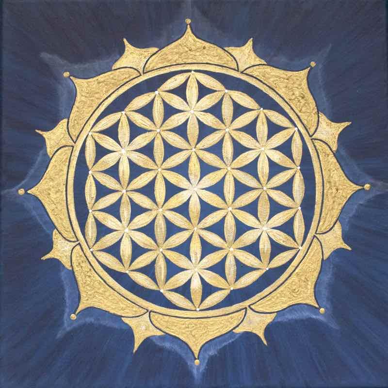 Blume des Lebens Bild: Midnightsky over Marrakesch