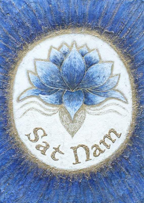 Auftragsbild: Mantra Sat Nam