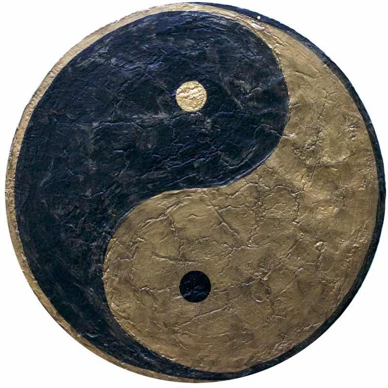 Yin und Yang - sich anziehende Gegensätze