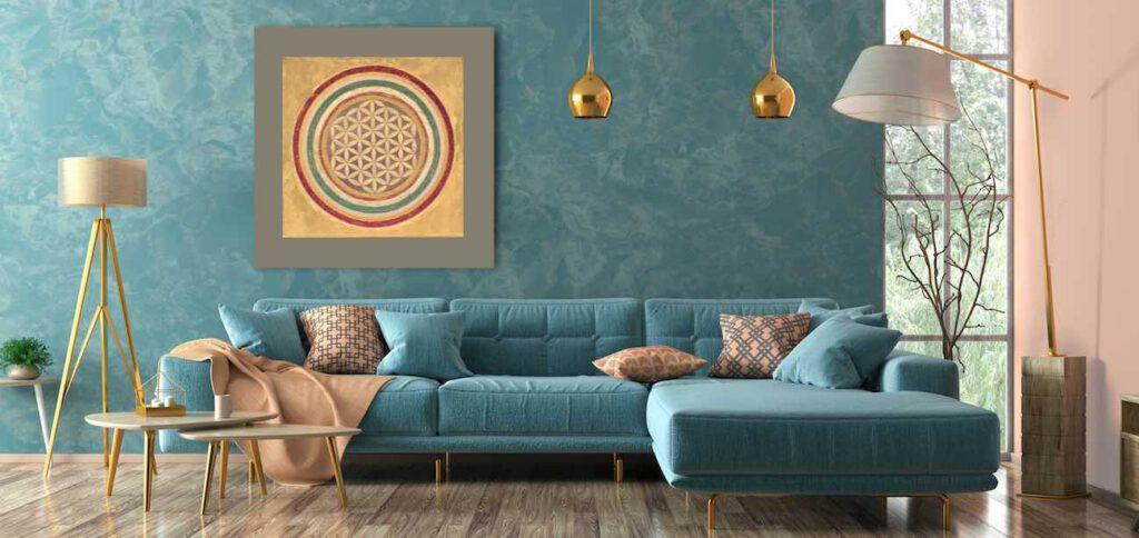 Feng Shui im Wohnzimmer. Welche Regeln bei der Gestaltung wichtig sind.