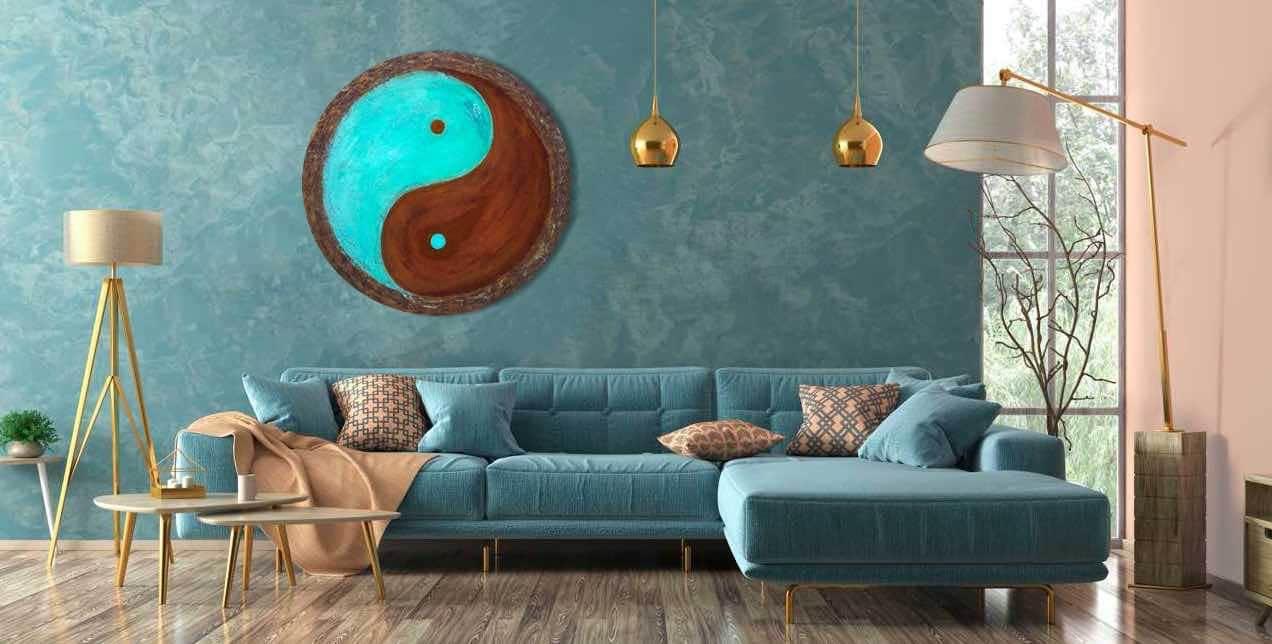 Yin und Yang - handgemalte Energiebilder online kaufen