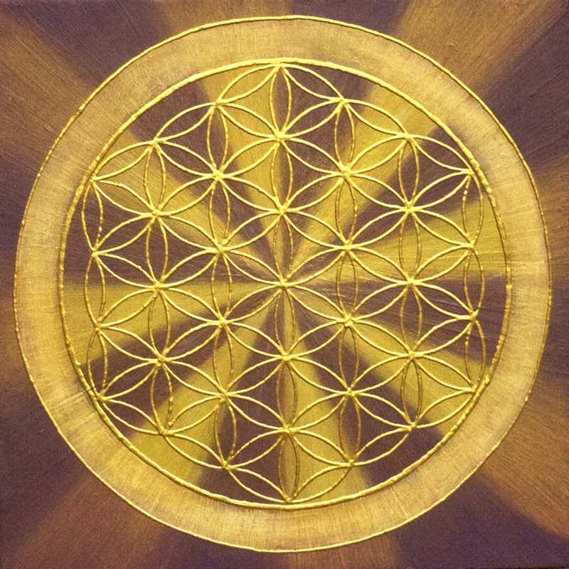 handgemaltes Energiebild: Good Vibrations