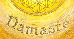 Namaste: die Geste des Respekts