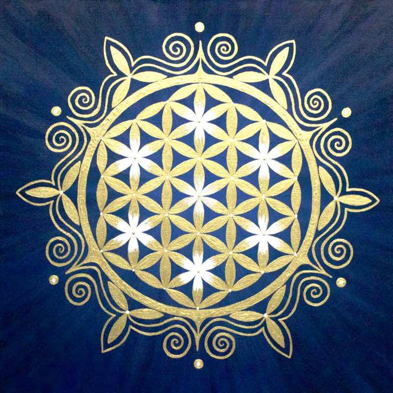 Blume des Lebens Bild: Blume des Orients