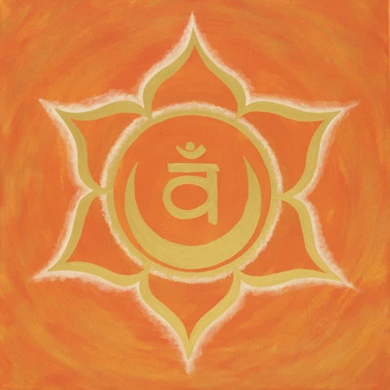 Sakral-Chakra Energiebild