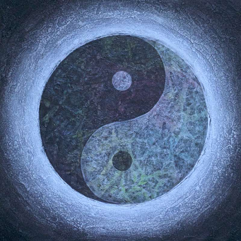 Yin Yang Bild - Taijitu