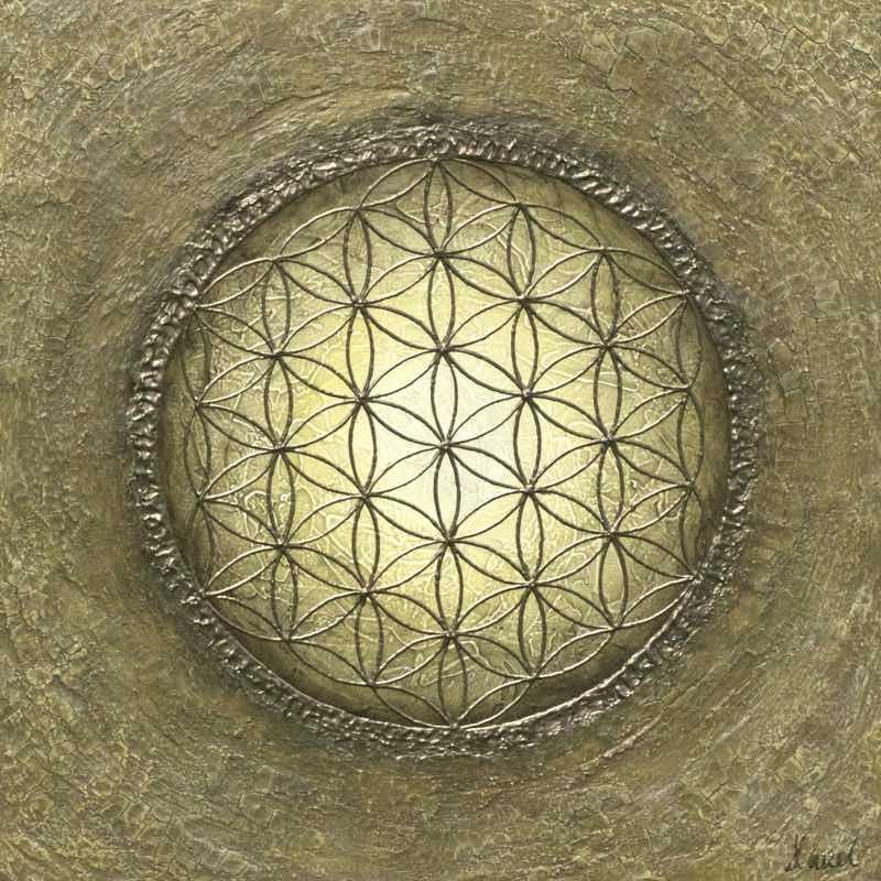 Blume des Lebens Bild: La Luna