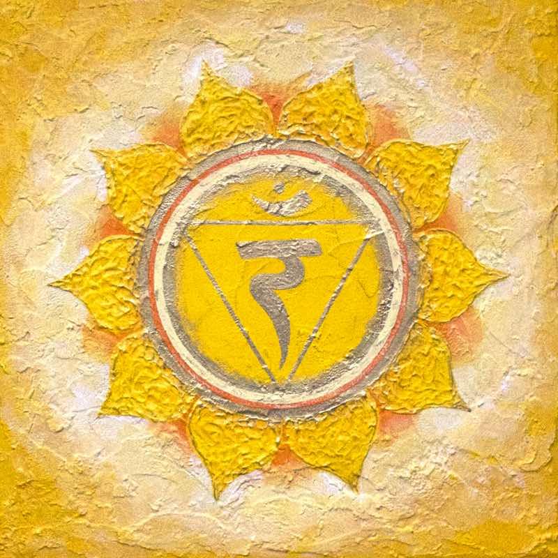 Solarplexus-Chakra Energiebild