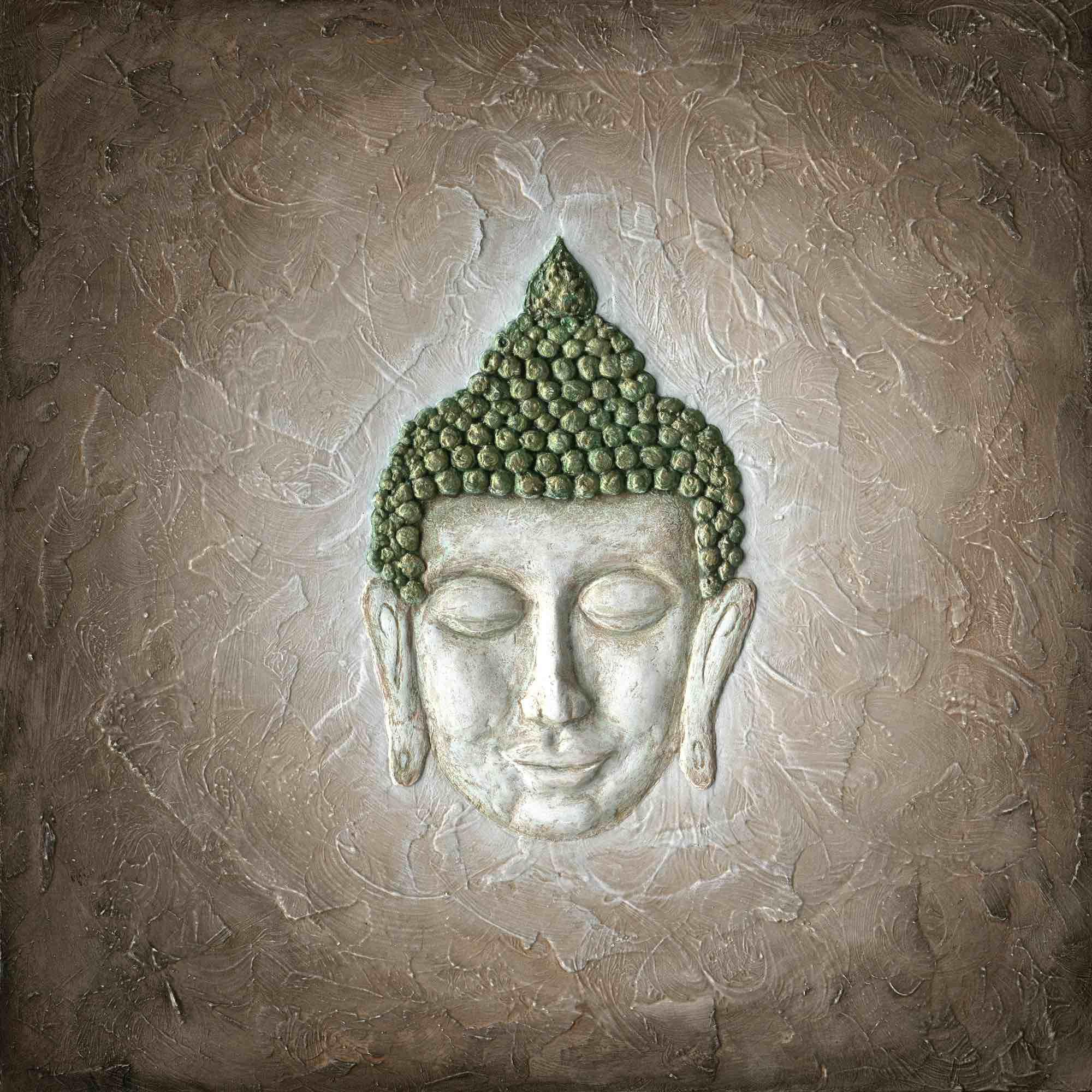 Leinwanddruck - Ruhender Buddha