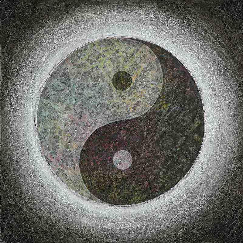 Leinwanddruck - Yin Yang - Taijitu
