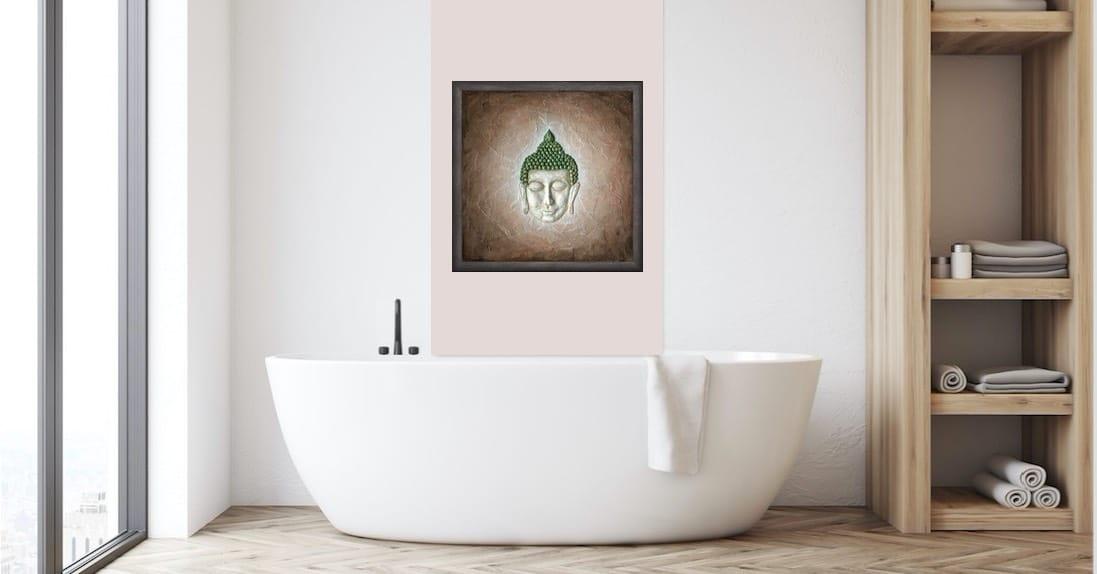 Poster mit Rahmen: spirituelle Wandbilder verschönern Deine Wohnung