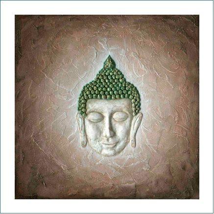 Poster - Ruhender Buddha