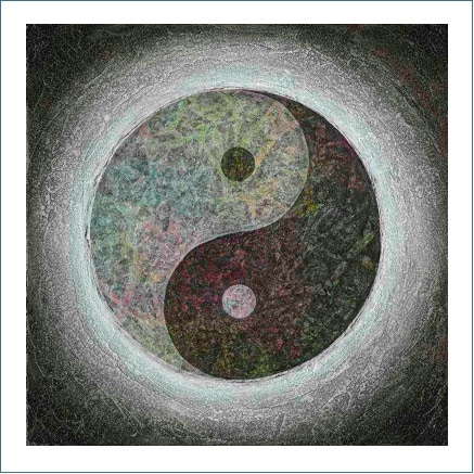 Poster - Yin Yang - Taijitu