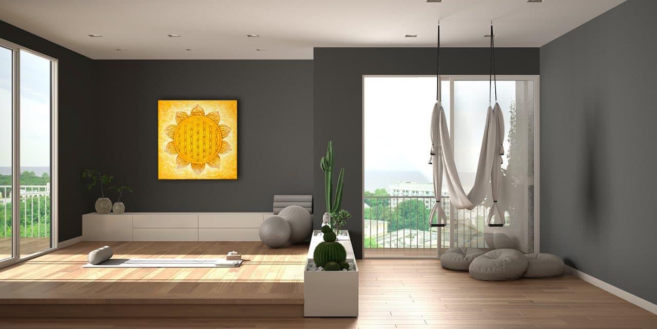Das Solarplexuschakra - handgemalte Chakra Energiebilder online kaufen