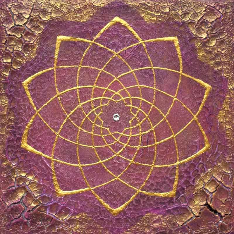 Energiebild: Venusblume Harmonie