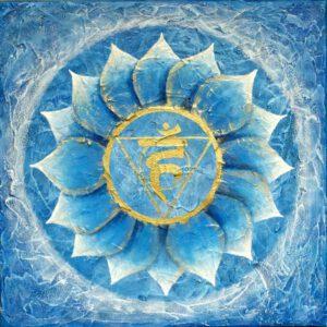 Halschakra, das sechste Chakra, Vishudda Chakra