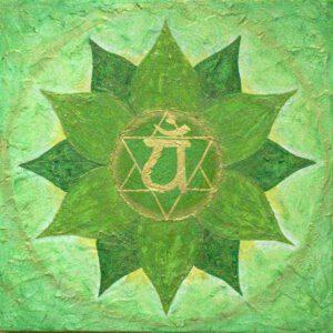 Herzchakra, das vierte Chakra, Anahata Chakra