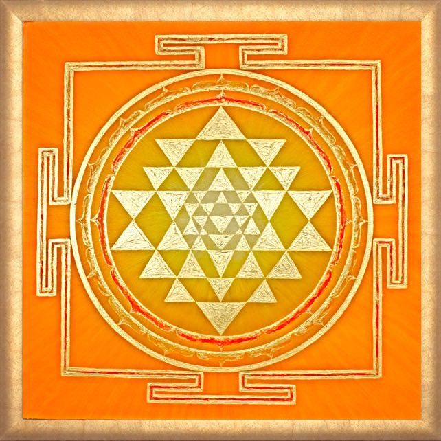 Sri Yantra Quelle des Lichts