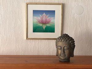 Auftragsarbeit: Lotusblüte