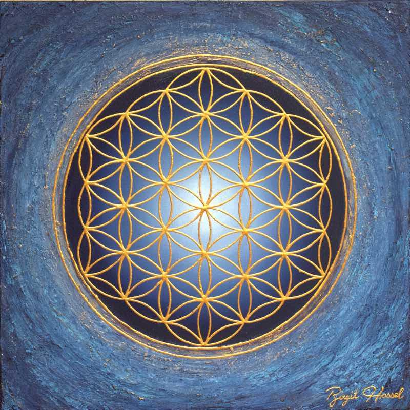 Blume des Lebens: Divine Silence