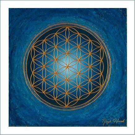 Poster - Blume des Lebens - Divine Silence